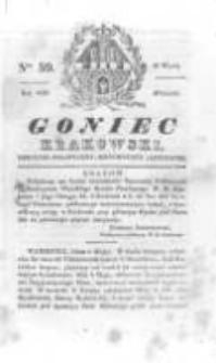 Goniec Krakowski: dziennik polityczny, historyczny i literacki. 1830.05.18 nr59