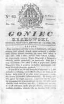 Goniec Krakowski: dziennik polityczny, historyczny i literacki. 1830.05.25 nr62