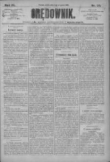 Orędownik: pismo dla spraw politycznych i społecznych 1910.08.03 R.40 Nr176
