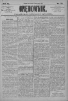 Orędownik: pismo dla spraw politycznych i społecznych 1910.08.06 R.40 Nr179