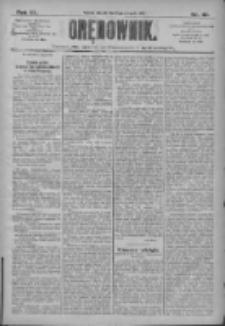 Orędownik: pismo dla spraw politycznych i społecznych 1910.08.09 R.40 Nr181
