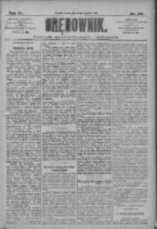 Orędownik: pismo dla spraw politycznych i społecznych 1910.08.10 R.40 Nr182