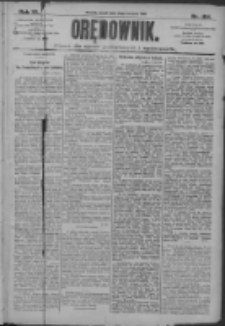 Orędownik: pismo dla spraw politycznych i społecznych 1910.08.12 R.40 Nr184