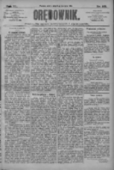 Orędownik: pismo dla spraw politycznych i społecznych 1910.08.13 R.40 Nr185