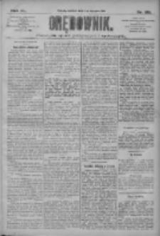 Orędownik: pismo dla spraw politycznych i społecznych 1910.08.14 R.40 Nr186