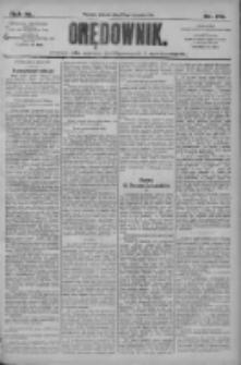 Orędownik: pismo dla spraw politycznych i społecznych 1910.08.23 R.40 Nr192
