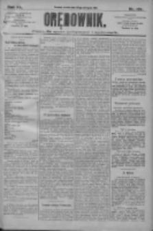 Orędownik: pismo dla spraw politycznych i społecznych 1910.08.24 R.40 Nr193