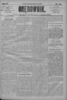 Orędownik: pismo dla spraw politycznych i społecznych 1910.08.26 R.40 Nr195
