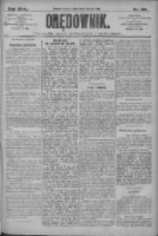 Orędownik: pismo dla spraw politycznych i społecznych 1910.08.28 R.40 Nr197