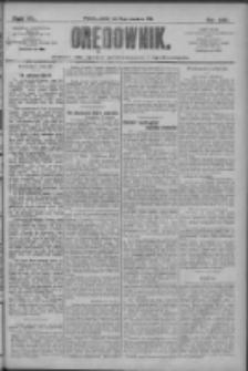 Orędownik: pismo dla spraw politycznych i społecznych 1910.09.02 R.40 Nr201