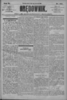 Orędownik: pismo dla spraw politycznych i społecznych 1910.09.03 R.40 Nr202