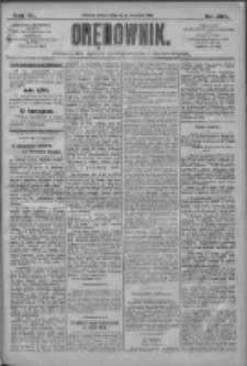 Orędownik: pismo dla spraw politycznych i społecznych 1910.09.10 R.40 Nr10 Nr207