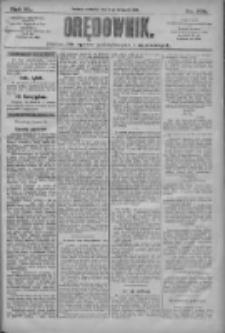 Orędownik: pismo dla spraw politycznych i społecznych 1910.09.11 R.40 Nr208