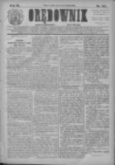 Orędownik: najstarsze ludowe pismo narodowe i katolickie w Wielkopolsce 1910.09.16 R.40 Nr212