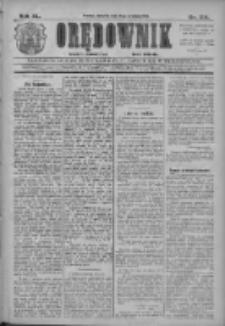 Orędownik: najstarsze ludowe pismo narodowe i katolickie w Wielkopolsce 1910.09.18 R.40 Nr214