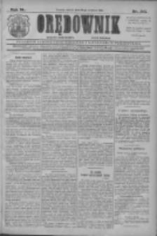 Orędownik: najstarsze ludowe pismo narodowe i katolickie w Wielkopolsce 1910.09.20 R.40 Nr215