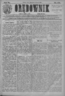 Orędownik: najstarsze ludowe pismo narodowe i katolickie w Wielkopolsce 1910.09.23 R.40 Nr218