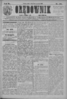 Orędownik: najstarsze ludowe pismo narodowe i katolickie w Wielkopolsce 1910.09.24 R.40 Nr219