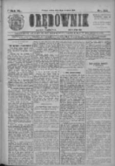 Orędownik: najstarsze ludowe pismo narodowe i katolickie w Wielkopolsce 1910.09.27 R.40 Nr221
