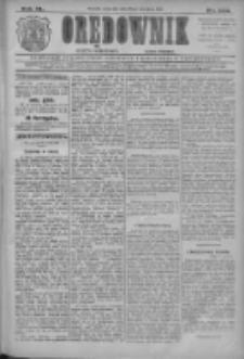 Orędownik: najstarsze ludowe pismo narodowe i katolickie w Wielkopolsce 1910.09.29 R.40 Nr223