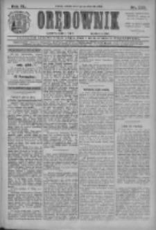 Orędownik: najstarsze ludowe pismo narodowe i katolickie w Wielkopolsce 1910.10.01 R.40 Nr225