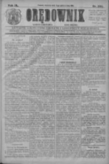 Orędownik: najstarsze ludowe pismo narodowe i katolickie w Wielkopolsce 1910.10.02 R.40 Nr226