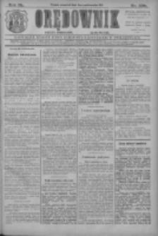 Orędownik: najstarsze ludowe pismo narodowe i katolickie w Wielkopolsce 1910.10.06 R.40 Nr229