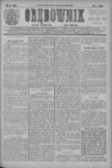 Orędownik: najstarsze ludowe pismo narodowe i katolickie w Wielkopolsce 1910.10.09 R.40 Nr232