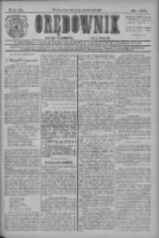 Orędownik: najstarsze ludowe pismo narodowe i katolickie w Wielkopolsce 1910.10.12 R.40 Nr234
