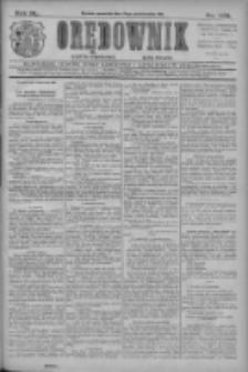 Orędownik: najstarsze ludowe pismo narodowe i katolickie w Wielkopolsce 1910.10.13 R.40 Nr235