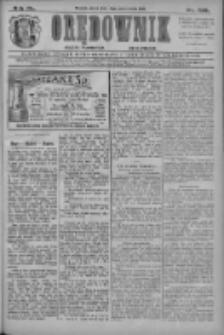 Orędownik: najstarsze ludowe pismo narodowe i katolickie w Wielkopolsce 1910.10.14 R.40 Nr236