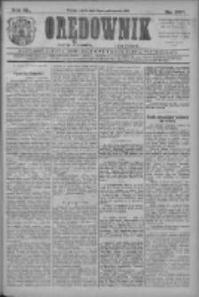 Orędownik: najstarsze ludowe pismo narodowe i katolickie w Wielkopolsce 1910.10.15 R.40 Nr237