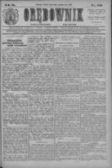 Orędownik: najstarsze ludowe pismo narodowe i katolickie w Wielkopolsce 1910.10.18 R.40 Nr239
