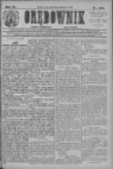Orędownik: najstarsze ludowe pismo narodowe i katolickie w Wielkopolsce 1910.10.19 R.40 Nr240