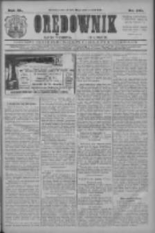 Orędownik: najstarsze ludowe pismo narodowe i katolickie w Wielkopolsce 1910.10.20 R.40 Nr241