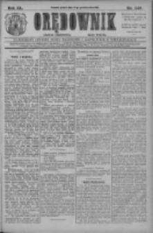 Orędownik: najstarsze ludowe pismo narodowe i katolickie w Wielkopolsce 1910.10.21 R.40 Nr242