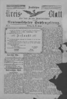 Amtliches Kreis-Blatt für den Kreis Neutomischel: zugleich Neutomischeler Hopfenzeitung 1897.01.19 Nr6
