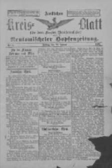 Amtliches Kreis-Blatt für den Kreis Neutomischel: zugleich Neutomischeler Hopfenzeitung 1897.01.22 Nr7