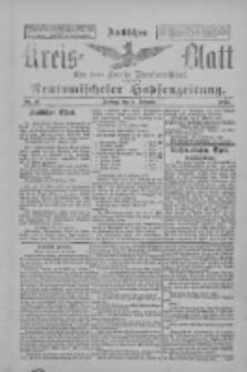 Amtliches Kreis-Blatt für den Kreis Neutomischel: zugleich Neutomischeler Hopfenzeitung 1897.02.05 Nr11