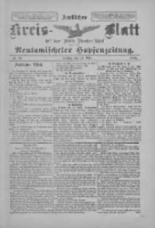 Amtliches Kreis-Blatt für den Kreis Neutomischel: zugleich Neutomischeler Hopfenzeitung 1897.03.12 Nr21
