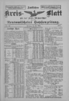 Amtliches Kreis-Blatt für den Kreis Neutomischel: zugleich Neutomischeler Hopfenzeitung 1897.03.30 Nr26