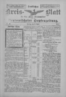 Amtliches Kreis-Blatt für den Kreis Neutomischel: zugleich Neutomischeler Hopfenzeitung 1897.04.02 Nr27