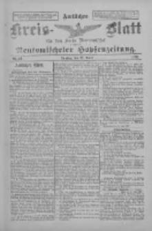 Amtliches Kreis-Blatt für den Kreis Neutomischel: zugleich Neutomischeler Hopfenzeitung 1897.04.27 Nr33