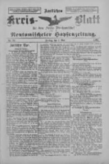 Amtliches Kreis-Blatt für den Kreis Neutomischel: zugleich Neutomischeler Hopfenzeitung 1897.05.07 Nr36