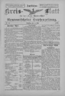 Amtliches Kreis-Blatt für den Kreis Neutomischel: zugleich Neutomischeler Hopfenzeitung 1897.05.11 Nr37