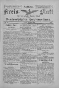 Amtliches Kreis-Blatt für den Kreis Neutomischel: zugleich Neutomischeler Hopfenzeitung 1897.05.14 Nr38