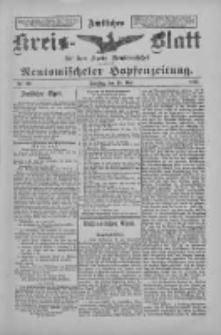 Amtliches Kreis-Blatt für den Kreis Neutomischel: zugleich Neutomischeler Hopfenzeitung 1897.05.18 Nr39
