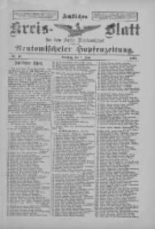 Amtliches Kreis-Blatt für den Kreis Neutomischel: zugleich Neutomischeler Hopfenzeitung 1897.06.01 Nr43