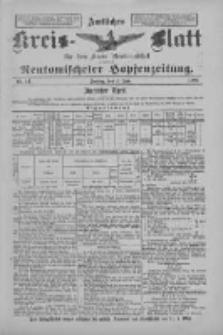 Amtliches Kreis-Blatt für den Kreis Neutomischel: zugleich Neutomischeler Hopfenzeitung 1897.06.04 Nr44