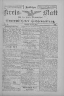 Amtliches Kreis-Blatt für den Kreis Neutomischel: zugleich Neutomischeler Hopfenzeitung 1897.06.22 Nr48